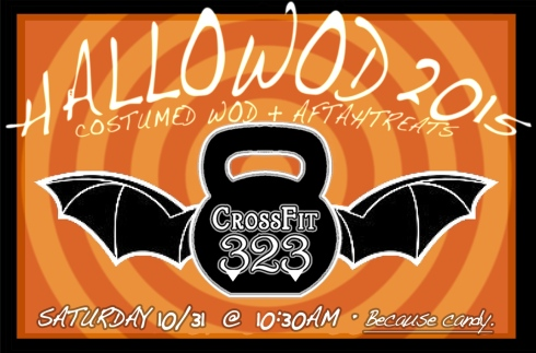 The 5th Annual CrossFit 323 HALLOWOD!